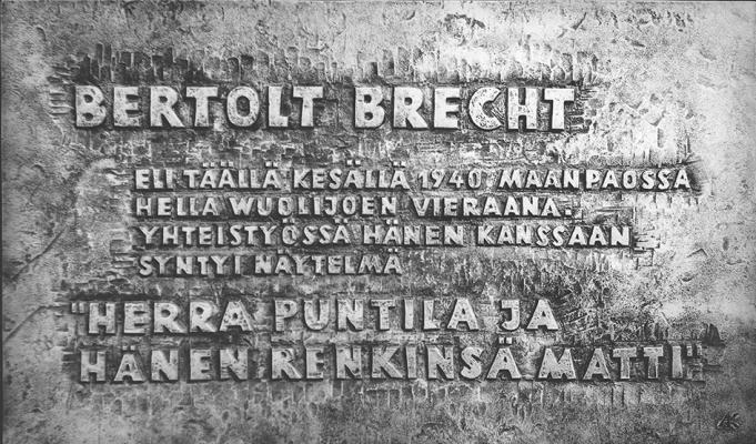 AS-017 Bertold Brecht Finnland